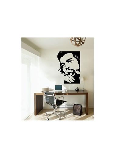 Artikel Che Guevara-2 Kadife Duvar Sticker 45,8X64 Cm Siyah